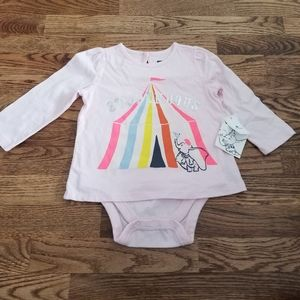 NWT Dumbo Gap Top 18-24 Months